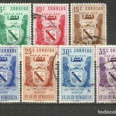 Sellos: VENEZUELA YVERT NUM. 309/405 SERIE COMPLETA USADA. Lote 207943971