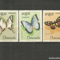 Francobolli: VENEZUELA YVER NUM. 731/733 * SERIE COMPLETA CON FIJASELLOS. Lote 207979453