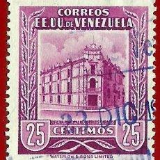 Francobolli: VENEZUELA. 1954. OFICINA PRINCIPAL DE CORREOS. CARACAS. Lote 208456505