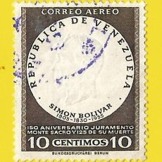 Francobolli: VENEZUELA. 1957. SIMON BOLIVAR. Lote 208458848