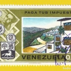 Sellos: VENEZUELA. 1974. PAGA TUS IMPUESTOS ... PARA VIVIENDAS. Lote 210943869