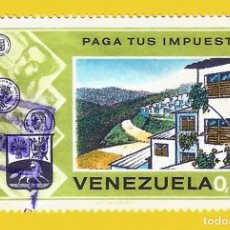 Sellos: VENEZUELA. 1974. PAGA TUS IMPUESTOS ... PARA VIVIENDAS. Lote 210943965