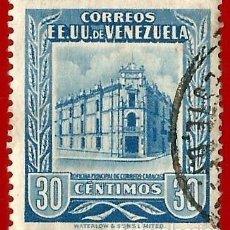 Sellos: VENEZUELA. 1953. OFICINA PRINCIPAL CORREOS. CARACAS. Lote 211407015