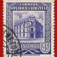 Sellos: VENEZUELA. 1955. OFICINA PRINCIPAL DE CORREOS. CARACAS. Lote 211410409