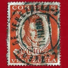 Sellos: VENEZUELA. 1960. ALEXANDER VON HUMBOLDT. Lote 211683645