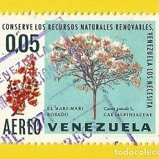 Sellos: VENEZUELA. 1969. CONSERVACION RECURSOS NATURALES. Lote 211686131