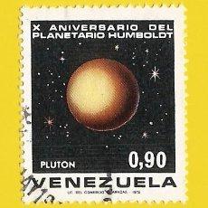 Sellos: VENEZUELA. 1973. PLANETARIO HUMBOLDT. PLANETA PLUTON. Lote 211690454