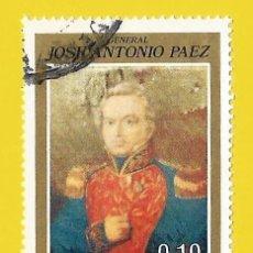 Sellos: VENEZUELA. 1973. GRAL. JOSE ANTONIO PAEZ. Lote 211690878