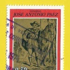 Sellos: VENEZUELA. 1973. GRAL. JOSE ANTONIO PAEZ. Lote 211690964
