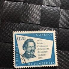 Sellos: SELLO DE VENEZUELA USADO EL DE LA FOTO VER TODOS MIS SELLOS NUEVOS Y USADOS. Lote 218091435