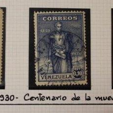 Sellos: SIMON BOLIVAR EL LIBERTADOR. LOTE 22 SELLOS DE 6 SERIES CONMEMORATIVAS TODOS DIFERENTES. Lote 218560123