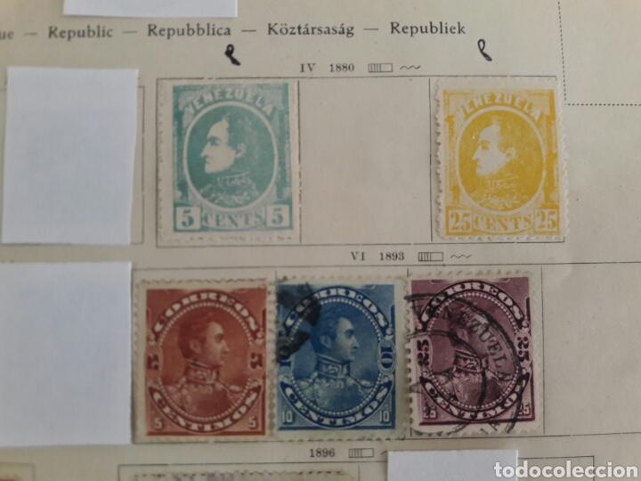 Sellos: Lote de 12 sellos estampillas Antiguas de América venezuela - Foto 2 - 219210137