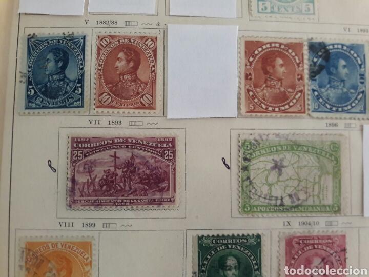 Sellos: Lote de 12 sellos estampillas Antiguas de América venezuela - Foto 3 - 219210137