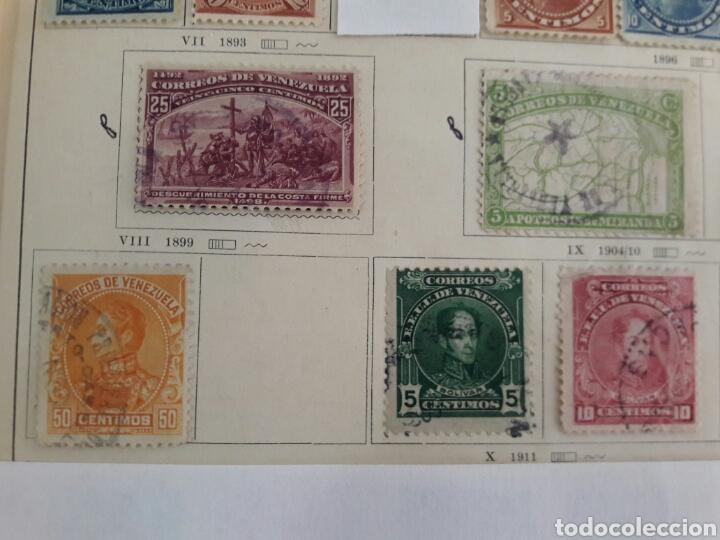 Sellos: Lote de 12 sellos estampillas Antiguas de América venezuela - Foto 4 - 219210137