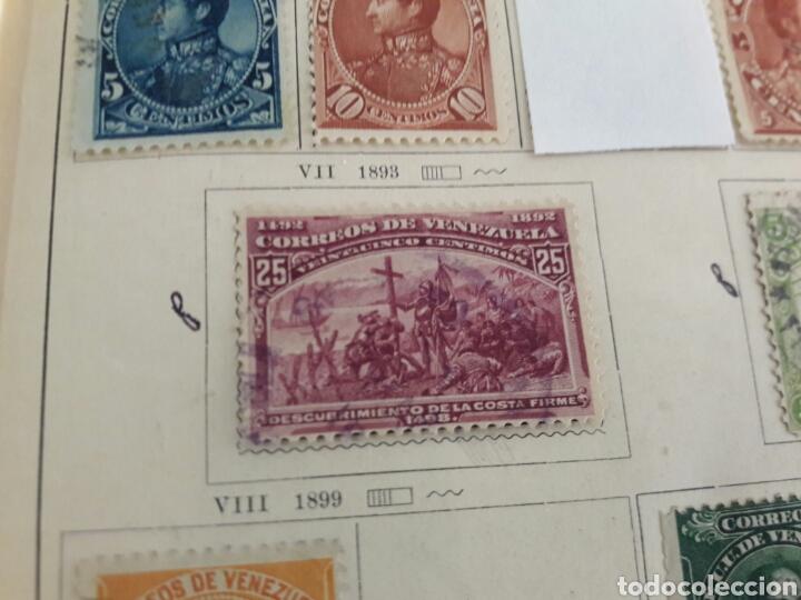 Sellos: Lote de 12 sellos estampillas Antiguas de América venezuela - Foto 5 - 219210137