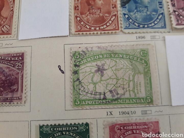 Sellos: Lote de 12 sellos estampillas Antiguas de América venezuela - Foto 6 - 219210137