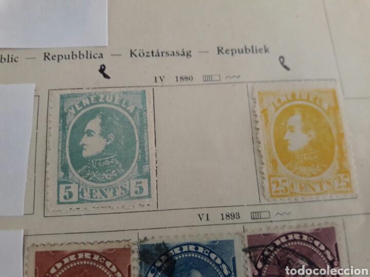 Sellos: Lote de 12 sellos estampillas Antiguas de América venezuela - Foto 7 - 219210137