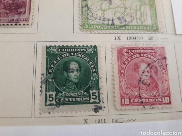 Sellos: Lote de 12 sellos estampillas Antiguas de América venezuela - Foto 8 - 219210137