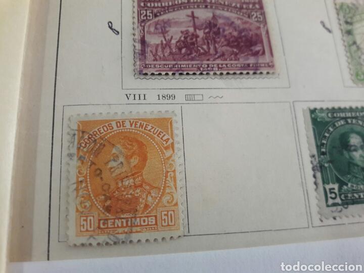 Sellos: Lote de 12 sellos estampillas Antiguas de América venezuela - Foto 9 - 219210137