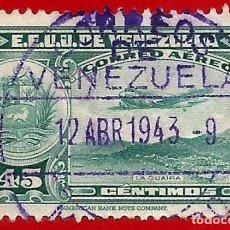 Sellos: VENEZUELA. 1939. LA GUAIRA. AVION. Lote 222802490