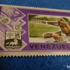 Sellos: VENEZUELA 0,05 PAGA TUS IMPUESTOS. Lote 223156301