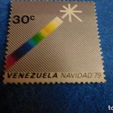 Sellos: SELLOS VENEZUELA , VENEZUELA 1979 - NAVIDAD. Lote 223156640