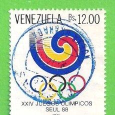Francobolli: VENEZUELA - MICHEL 2551 - YVERT 1414 - JUEGOS OLÍMPICOS DE SEUL. (1988).. Lote 225014090