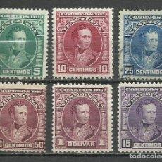 Sellos: 9372B- 2 SERIES COMPLETAS VENUZUELA 1904 Nº 110/4 Y 123. CLASICOS, AMERICA SUR SUDAMERICA.. Lote 227905880