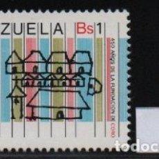 Sellos: VENEZUELA: 1977; 1 ESTAMPILLA CUATRICENTENARIO DE LA CIUDAD DE CORO. Lote 230227120