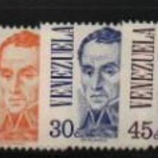 Sellos: VENEZUELA: 1978; EMISION SERVICIO DE ROLLO, EFIGIE SIMÓN BOLÍVAR 2DA. SERIE. Lote 230368460