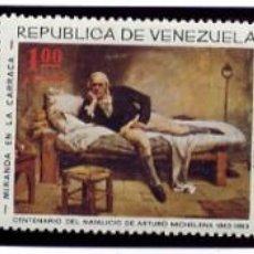 Sellos: VENEZUELA - NAVIDAD 1966 + 1968 + 1970 + MICHELENA YVERT 741/43 + AEREOS - NUEVOS - FOTOS ADIC.. Lote 232013300