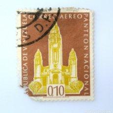 Sellos: SELLO POSTAL VENEZUELA 1960, 0,10 BS, PANTEON NACIONAL, USADO. Lote 234097210