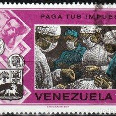 Sellos: 1974 - VENEZUELA - CAMPAÑA HACIENDA PAGA TUS IMPUESTOS - SANIDAD - YVERT 926. Lote 234967385