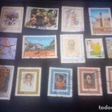 Sellos: LOTE DE 14 SELLOS DE VENEZUELA USADOS. Lote 243372980