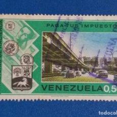 Sellos: SELLO DE VENEZUELA. YVERT 916. MINISTERIO DE HACIENDA. CAMPAÑA ''PAGUE SUS IMPUESTOS''. (1974).. Lote 243639320
