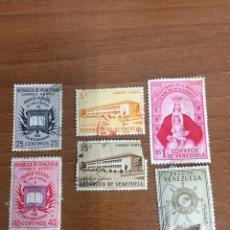Sellos: LOTE DE 6 SELLOS DE VENEZUELA. Lote 246649195