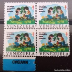 Sellos: 1975.VENEZUELA . NAVIDAD . VIÑETAS . B/AR . **,MNH( 21-375 ). Lote 253228115