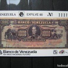 Sellos: VENEZUELA HOJA ESFILVE 90 MNH** LUJO!!!. Lote 254083655