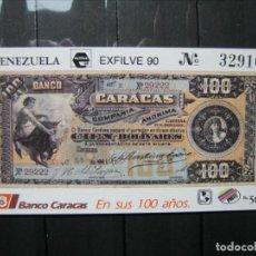 Sellos: VENEZUELA HOJA ESFILVE 90 MNH** LUJO!!!. Lote 254083745