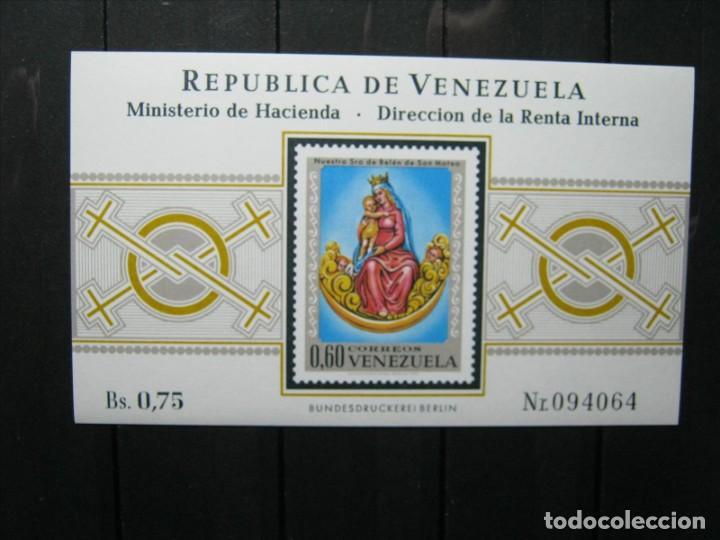 VENEZUELA HOJA NUESTRA SEÑORA DE BELÉN MNH** LUJO!!! (Sellos - Extranjero - América - Venezuela)