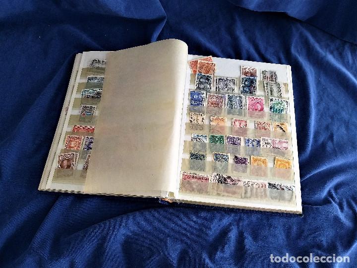 Sellos: lote restos coleccion sellos America 16 hojas,32 paginas de las cuales 24 completas de sellos - Foto 5 - 254739630