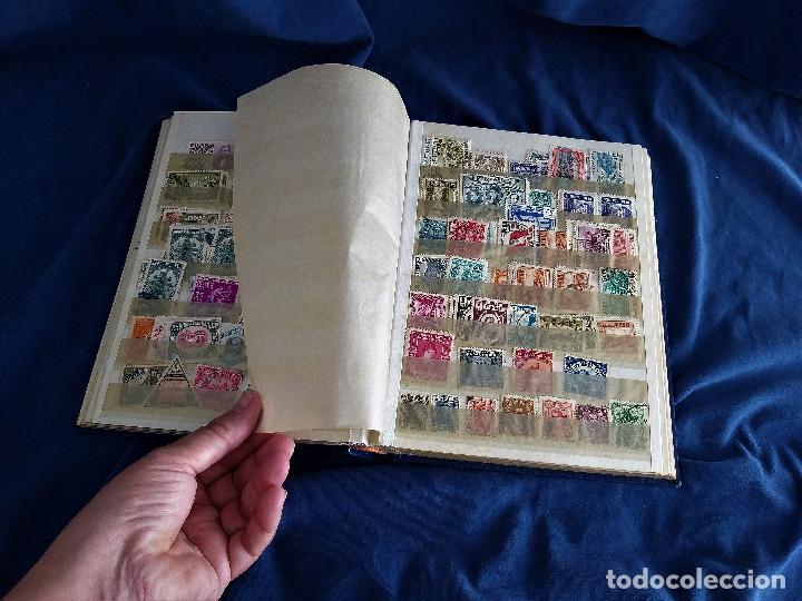 Sellos: lote restos coleccion sellos America 16 hojas,32 paginas de las cuales 24 completas de sellos - Foto 6 - 254739630