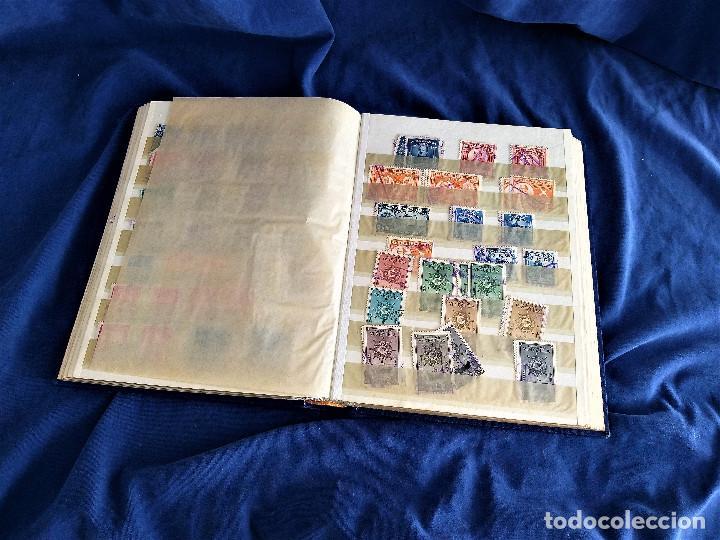 Sellos: lote restos coleccion sellos America 16 hojas,32 paginas de las cuales 24 completas de sellos - Foto 8 - 254739630