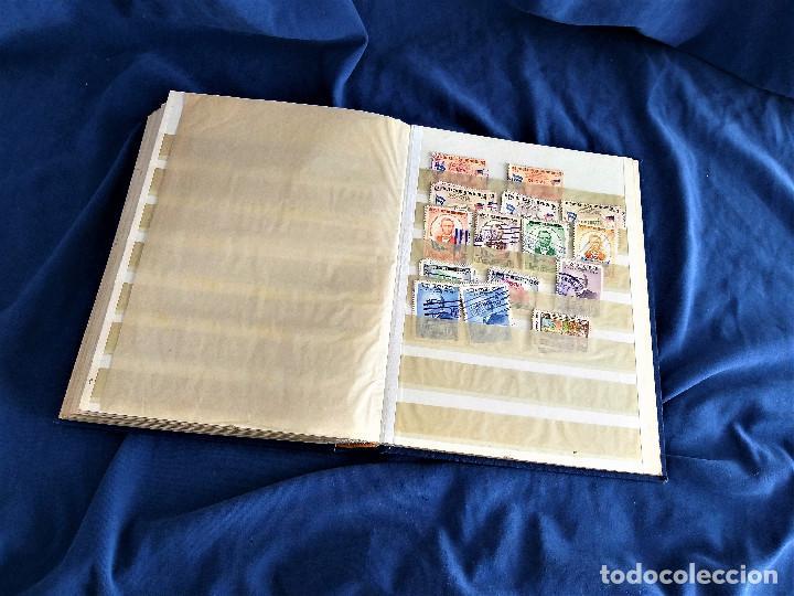 Sellos: lote restos coleccion sellos America 16 hojas,32 paginas de las cuales 24 completas de sellos - Foto 13 - 254739630