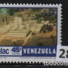Sellos: VENEZUELA: 1986; INDULAC. Lote 255986670
