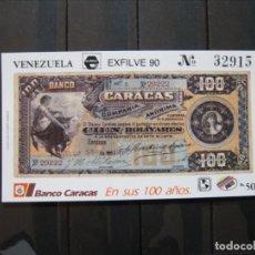 Sellos: VENEZUELA HOJA ESFILVE 90 MNH** LUJO!!!. Lote 261266415