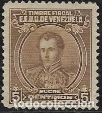VENEZUELA FISCALES YVERT 126 (Sellos - Extranjero - América - Venezuela)