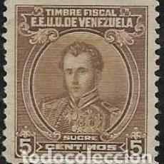 Sellos: VENEZUELA FISCALES YVERT 126. Lote 263060135