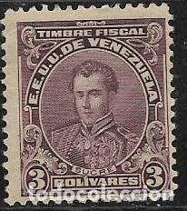 VENEZUELA FISCALES YVERT 132 (Sellos - Extranjero - América - Venezuela)