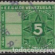 Sellos: VENEZUELA FISCALES YVERT 141. Lote 263060345